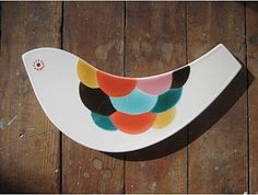 Scales Bird Tile eclectic kitchen tools