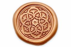 Damask Kaleidoscope Wax Seal Stamp, Backtozero - 2