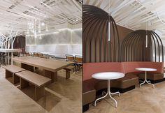 not guilty restaurant by Ippolito Fleitz Group, Zurich   Switzerland  restaurant