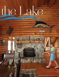 Rustic cabin at the lake