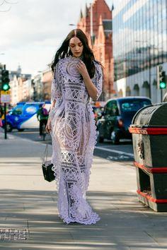 London Fashion Week Opening - Lightaholic