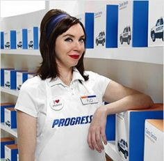 WHAT'S 'FLO' DOING WITH YOUR INSURANCE PREMIUMS? And you wonder why this guy named his insurance business 'Progressive'? A good friend of George Soros as well. We won't be using their services anytime soon...that's for sure.