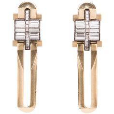 LANVIN Art Deco style earring