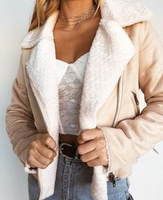 LITTLE LAMB SHEARLING JACKET – KOOGAL