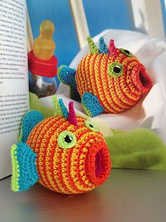 Goldfish Crochet ∙•❣•∙ Unique ∙•❣•∙ Creative