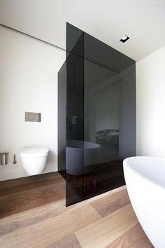 zwart glas douche - Google zoeken