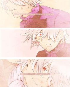 """""""No matter how you suffer, you must go on living"""" I chant to myself as I let Pandora Hearts emotionally ruin my life. (Xerxes Break Pandora Hearts)"""