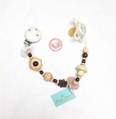 Nuggikette mit Edelstein Rosenquarz Liebe und Harmonie Schnullerkette Beaded Bracelets, Charmed, Ebay, Jewelry, Fashion, Pink Quartz, Postage Stamps, Rhinestones, Shopping