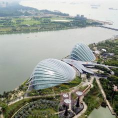 "Wilkinson Eyre's cooled conservatories at Gardens by the Bay are ""about having fun""."
