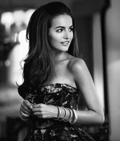 """Hair: Camilla Belle  Notes: Hair is really THICK & Full. Need a lot of hair for this kind of look otherwise it will just look """"bland"""""""