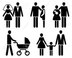 woman with a baby, illustration, icon - Google Search