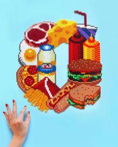 Alimenti con Hama beads