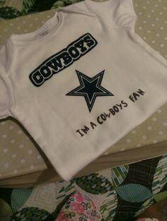 Cowboys onesie