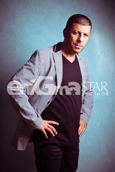 Super Star Eyad Nassar at Le Riad Hotel De Charm EnigmaStar cover shoot August 2013