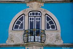 Janela da casa museu Major Pessoa Aveiro