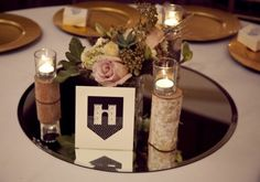 CENTER PIECE - Game Of Thrones Themed Wedding Inspiration | Weddingomania