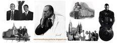 Melvin Lans dibujos y pinturas: Retratos