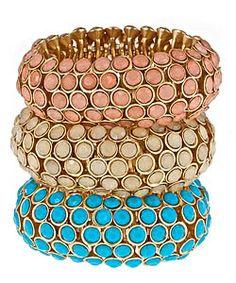 Blu Bijoux Dot Stretch Bracelet