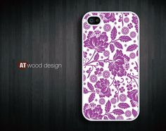 IPhone 5 case Hard case Rubber case iphone 4 case by Atwoodting, $7.99