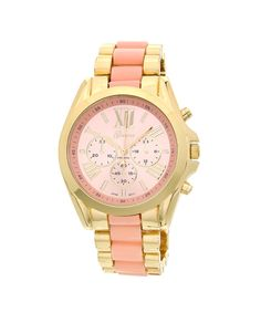 Office Girl Watch - Light Pink #shoplately $32...everything on this website rocks!