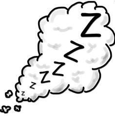 In tegenstelling tot mezelf kan het hoofdpersonage niet heel goed slapen.