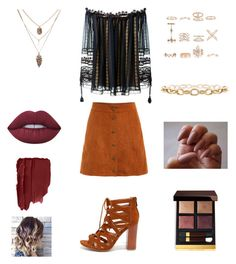"""Untitled #236"" by heather2003 on Polyvore featuring Chloé, Bamboo, New Look, Tom Ford and Lime Crime"