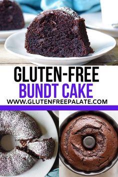 Gluten Free Deserts, Gluten Free Sweets, Gluten Free Cakes, Foods With Gluten, Gluten Free Baking, Dairy Free Recipes, Eating Gluten Free, Gluten Free Meals, Gluten Free Brownies