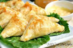 Will Cook For Smiles: Honey Dijon Chicken Pockets with Creamy Honey Mustard Dip