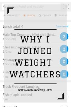 """Why I Joined Weight Watchers New year, new you. You may be thinking: """"Of course you joined Weight Watchers, with the new year"""". But I didn't join for the new year. I joined Weight Watchers the day after Thanksgiving, and as of December 31st, 2017 I have lost just over 10 pounds (that includes a 3 day break around Christmas where I ate cookies, and Christmas dinner and pie). Now I know that my weight loss won't be as good... Read More  Read More"""