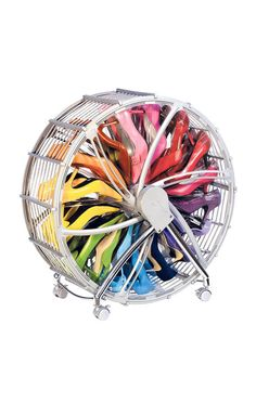 Shoe wheel - holds up to 30 pairs