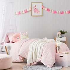 Lucy Velvet Quilt Cover Set Pink