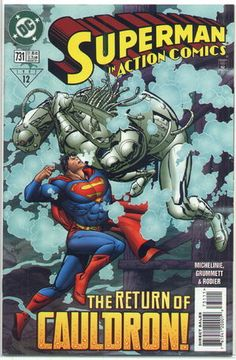 Cover for Action Comics #731 (1997)