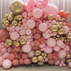 Balloons Galore, Pink Balloons, Wedding Balloons, Baby Shower Balloons, Birthday Balloons, Baby Shower Parties, 16th Birthday Decorations, Girl Baby Shower Decorations, Balloon Decorations Party