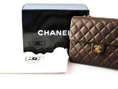 CHANEL Vintage Quilted Handbag.