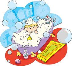 bathing.quenalbertini: A boy's bathtime