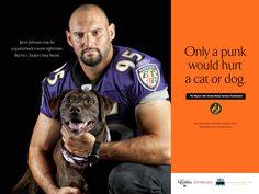 Jarret Johnson (Football Player) | Tough Guys Love Animals
