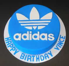 Adidas Birthday Cake - by Nada's Cakes Canberra