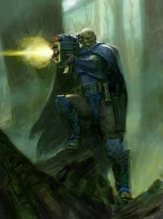 colored imperium scout sergeant sniper space_marines torias_telion ultramarines