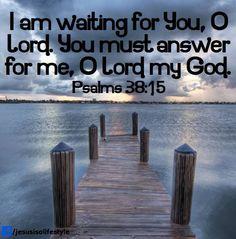 Psalm 38:15