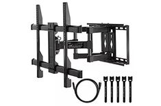 """See our site for more info on """"tv wall mount full motion"""". It is an excellent location for more information. Best Tv Wall Mount, Tv Wall Mount Bracket, Wall Mounted Tv, Curved Tvs, Swivel Tv Stand, Plasma Tv, Flat Screen, Tilt, Arm"""