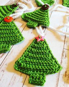 Crochet Pdf Pattern Christmas Tree Bunting Etsy In 2020 Christmas Crochet Christmas Crochet Patterns Free Christmas Crochet Patterns