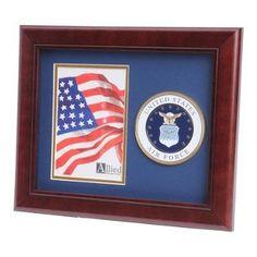 U.S Air Force Medallion Portrait Picture Frame