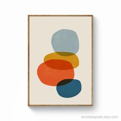 "Determine additional info on ""modern abstract art painting"". Browse through our web site. Modern Prints, Modern Wall Art, Art Prints, Mid Century Modern Art, Mid Century Art, Orange Wall Art, Abstract Geometric Art, Bauhaus, Printable Wall Art"