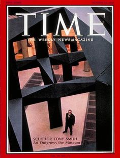 TIME Magazine Cover: Tony Smith -- Oct. 13, 1967