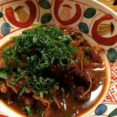 自宅居酒屋☆牛すじの土手煮(圧力鍋) by monrecette [クックパッド] 簡単おいしいみんなのレシピが214万品
