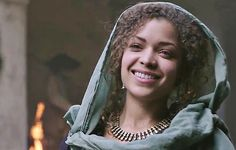 Samara (ANTONIA THOMAS) in The Musketeers series 2 - Image Credit: BBC