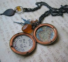 time traveller necklace from 2008 Ag Day, Free Spirit, Time Travel, Jewelry Ideas, Jewlery, Handmade Jewelry, Tutorials, Crafty, Life