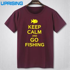 Just in Time -  Keep Calm and Go ... It is right Here Now !!    http://sportsworldbymj.com/products/keep-calm-and-go-fishing-t-shirt-several-sizes-and-colors-available-cotton-short-sleeve?utm_campaign=social_autopilot&utm_source=pin&utm_medium=pin