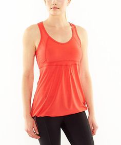 Look what I found on #zulily! Sahara Sunset Long Distance Singlet Tank by lucy #zulilyfinds
