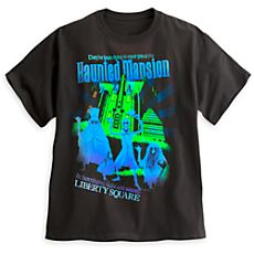 poster tee, haunt mansion, attract poster